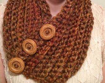 Crocheted Scarf/Cowl