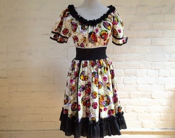 Wildflower Ruffled Dress