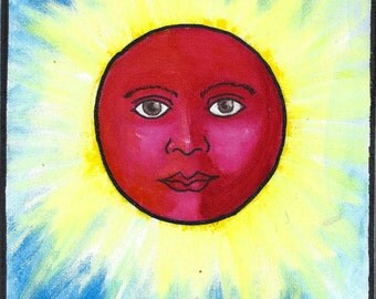 El Sol Hand Painted