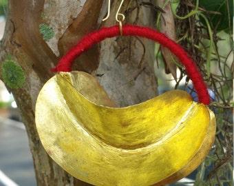 Extra Large Fulani Earrings