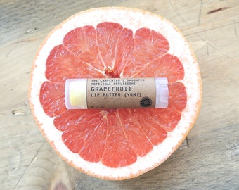 Grapefruit Lip Butter - Chapstick, Lip balm