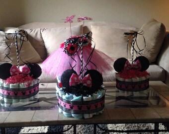 Minnie Mouse mini cakes