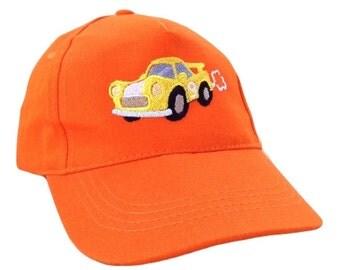 Cap embroidery, Caps,Baseball cap,embroidery,machine embroidered,car on boys baseball cap