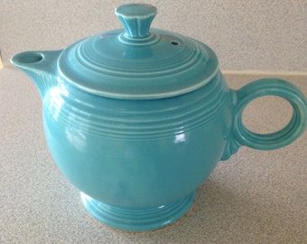 Fiestaware Teapot