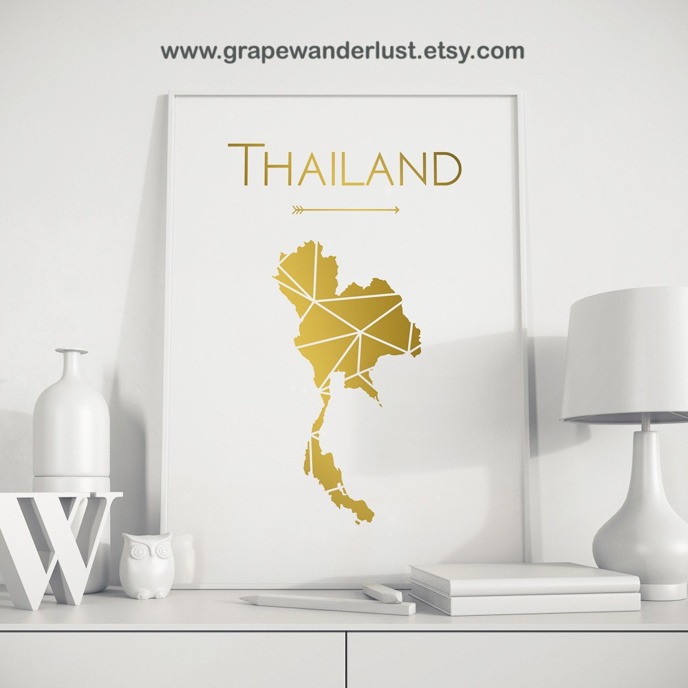 Gold crib for sale - Crib For Sale In Thailand Thailand Map Thailand Poster Thailand Print Thailand Wall Art Thailand