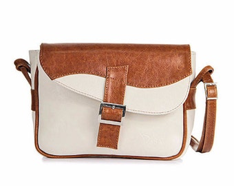 Camel Leather handbag
