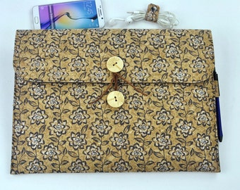 """Macbook Air Case, 11 Inch Macbook Sleeve, 13 inch macbook sleeve, New Macbook 12"""" Case, Glitter Floral Laptop Sleeve, holiday gift, D2E254"""