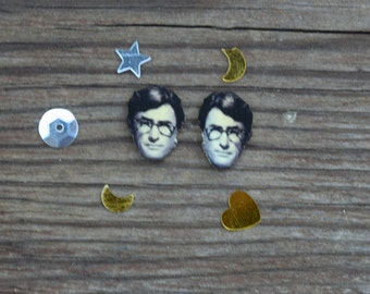 Gregory Peck Atticus Finch Earrings