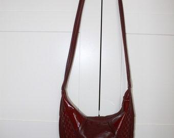 Vintage Schouder Bag Bordeaux Bag