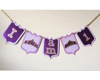 I Am 1 Birthday Banner