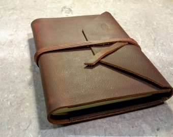 Soft Leather Journal (Refillable)