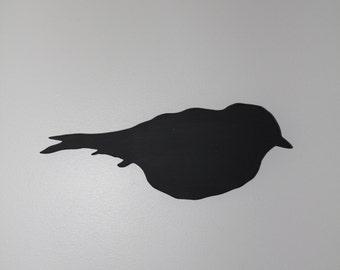 Handmade Chalkboard Black Bird
