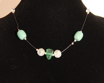 Turquoise Invisible Necklace