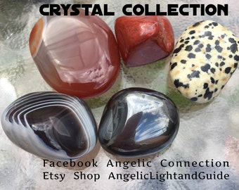 Balancing Act collection - crystals to help balance male and female sides, hormones and energy