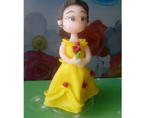 Belle Sweet Princess Handmade Cake Topper
