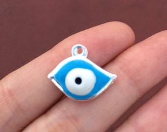 5 Hamsa Evil Eye Charm Good Luck Charm #0600