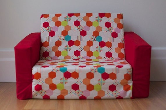 Sale Last One Sample Kids Flip Out Sofa Cover Red By