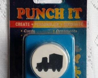 Vintage Truck Paper Puncher, Punch It Vintage, Paper Puncher, Confetti, Ornaments, Craft Supplies, Truck Paper Punch