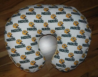 Greenbay Packers  Cotton/Minky Gold Boppy Cover