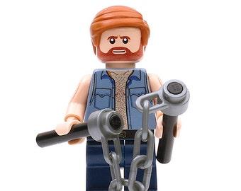 Chuck Norris - Custom Minifigure
