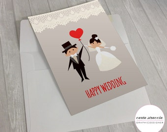 Greeting card-Wedding