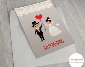 Birthday card-Wedding