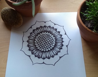 Dotted Flower