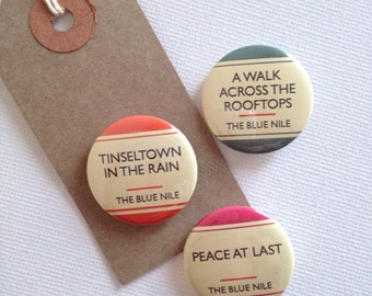 Badge Set - The Blue Nile