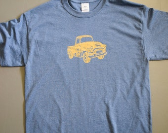 Olde Time Pick-up Truck screen printed t-shirt