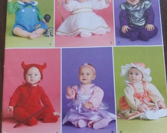 Sewing pattern Simplicity 2524 Babies' costumes new uncut size XS to L