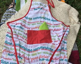 Flour sack apron