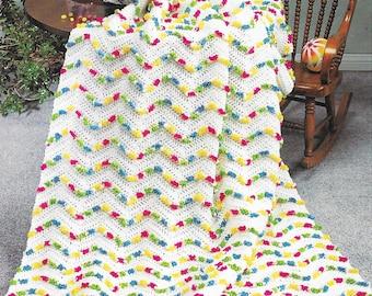 Crochet Pattern - Jelly Beans Blanket