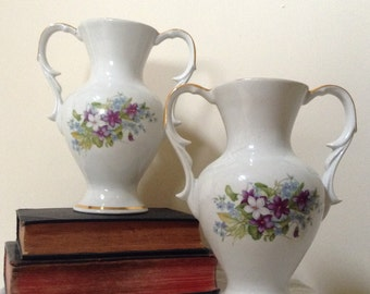 FRENCH VIOLET SUPERB Vases, outstanding!!!