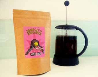 "Filter Coffee, Freshly Roasted - ""White Riot"" Blend From Sham City Roasters, Specialist Craft Coffees Roasted In London"