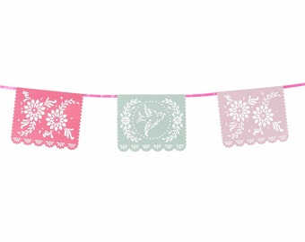 Mexicana Floral Bunting