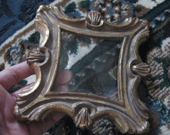 Small vintage/antique frame measuring approx. 5 1/4 inch by 5 1/4 inch