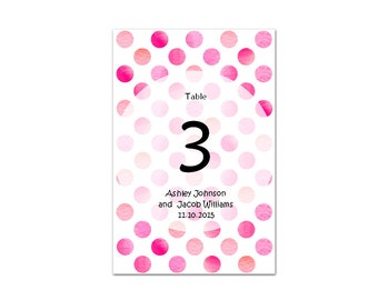 Wedding decorations Wedding table numbers Table numbers printable Instant download wedding Table number cards Table number download W5
