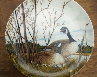 Dominion China Limited Edition Plate Donald Pentz 'Nesting' 1986