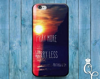 iPhone 4 4s 5 5s 5c SE 6 6s plus + iPod Touch 4th 5th 6th Gen Fun Cute Bible Verse Quote Cover Amazing Pretty Sunset Hope Believe Phone Case