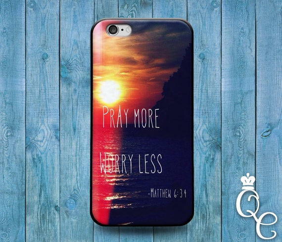 iPhone 4 4s 5 5s 5c SE 6 6s 7 plus iPod Touch 4th 5th 6th Gen Fun Cute Bible Verse Quote Cover Amazing Pretty Sunset Hope Believe Phone Case