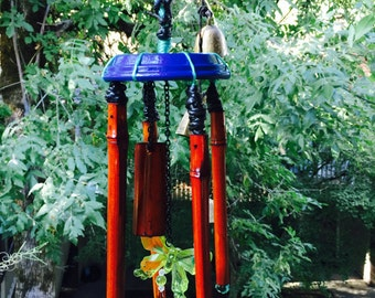 Butter Fly and Bamboo Chime