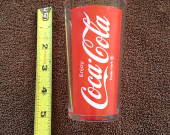 Coca Cola Coke Glass Cup Made in France