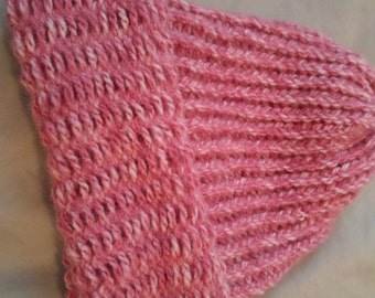 Pink Knit Hat