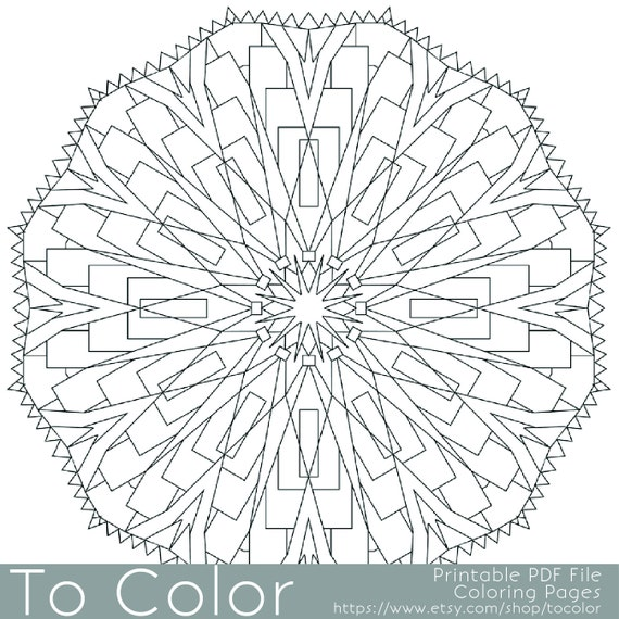 coloring pages for gel pens - items similar to detailed printable coloring pages for