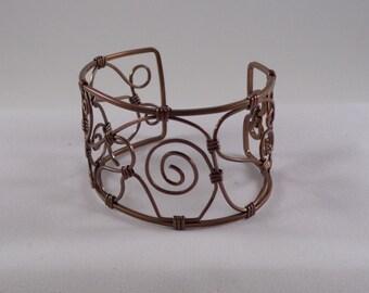 Cuff Bracelet Copper Cuff Bracelet Free Form