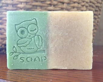 Rosemary Essential Oil Cold Process Soap