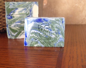 Peppermint Cold Press Soap