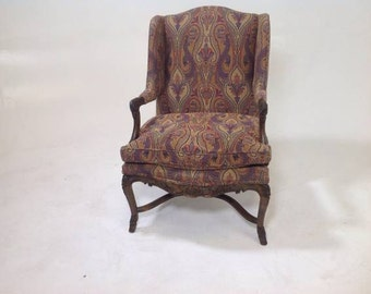 Country french lounge chair