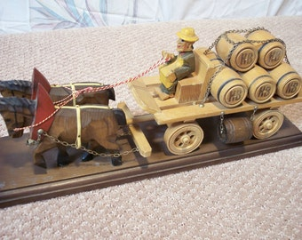 Vintage German Beer Wagon