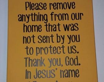 11x14 Prayer Canvas
